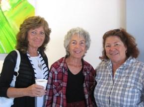 Julie Becker , Karen freedman and Carola Erb