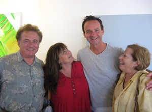 Stan Levin, Judy Levin, Randall Dodge and Joan Greenberg