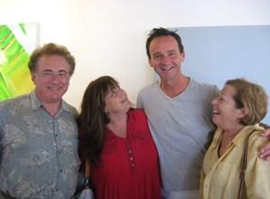 Stan Levin, Judy Levin, Randall Dodge and Joan Greenberg