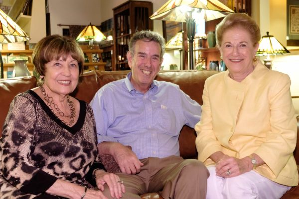 Barbara and Jerry Kent with Judy White