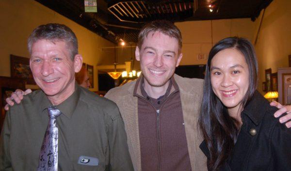 Blake Vasek, Ben Cole and Melanie Chen