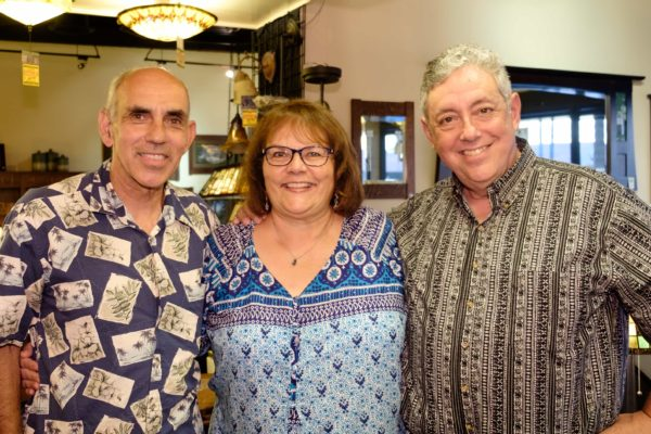 Wally Oliver, Ana Maria Grace and her husband Charles Cuccaro