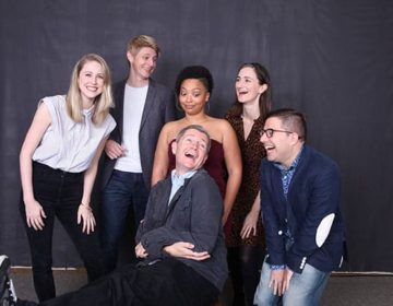Front L-R_ David McBean, Omri Schein Back L-R Noelle Marion, Christian Pedersen,Taylor Renee Henderson, & Uma Incrocci – photo by Aaron Rumley