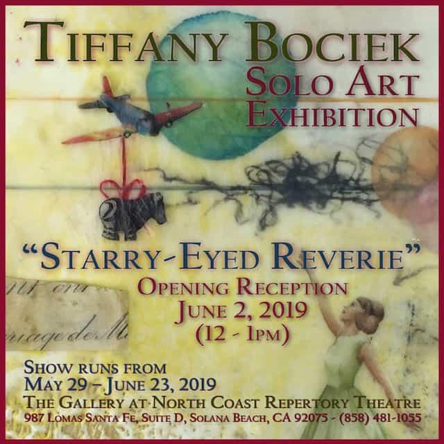 Tiffany Bociek Solo Art Exhibit  @ Nort Coast Repertory Theatre