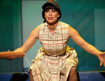 Allison Spratt Pearce as Hattie – photo by Aaron Rumley