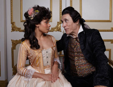 Amadeus – Kathryn Tkel & Tony Amendola – photo by Aaron Rumley