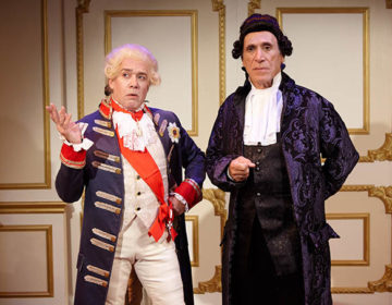 Amadeus – (L-R) Louis Lotorto _ Tony Amendola – photo by Aaron Rumley
