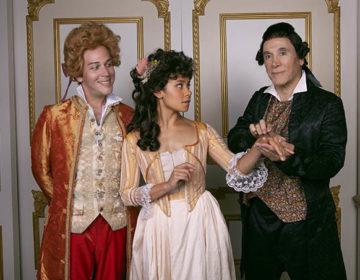 Amadeus L-R Rafael Goldstein, Kathryn Tkel, & Tony Amendola – photo by Aaron Rumly
