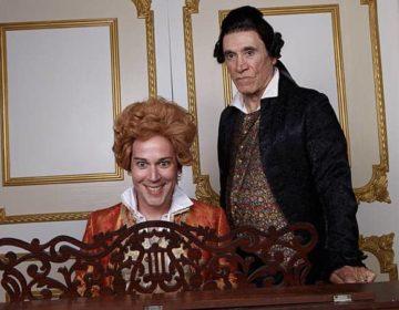 Amadeus (Sitting) Rafael Goldstein & Tony Amendola – phot by Aaron Rumley