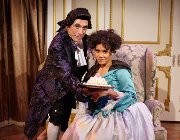Amadeus- Tony Amendola _ Kathryn Tkel – photo by Aaron Rumley