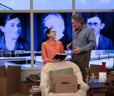 Becoming Dr. Ruth starring Tovah Feldshuh_ David Ellenstein Directs – photo by Aaron Rumley