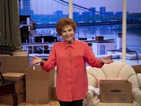 Becoming Dr. Ruth starring Tovah Feldshuh – photo by Aaron Rumley